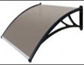 Polykarbonátová strecha-bronz,120cm
