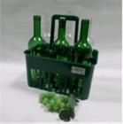 Plastový držiak na fľaše 6 miestny