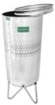 Nádrž nerezová – dušový systém objem: 50L  priemer: 384mm,výška: 500mm,hrúbka:0,8-1,2mm