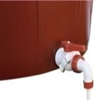 Guľový ventil plastový k škopke na zber 1″