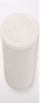 Plastová zátka na fľaše, 38mm, biela