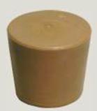 Zátka gumená 40/50 mm