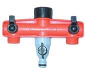 T-kus +2x ventil uzatvárateľný