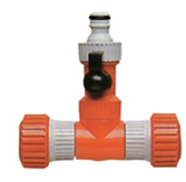 T-kus 2×3/4+ventil spojka uzatvárateľná