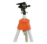 Kruhový zavlažovač s možnosťou nastavenia rozptylu na trojnožke 110 cm
