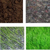 Geotextília s trávovým semenom 2,1*50m