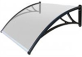 Polykarbonátová strecha-biela,120cm