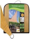 Slnečná plachta,štvoruholníková, piesok Rozmery:5 X 5 m, Polyethylene