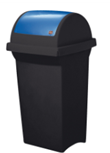 Nádoba na recyklačný odpad – modrá 50L