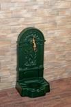 FIRENZE ozdobná studňa nástenná, zelená