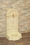 FIRENZE ozdobná studňa nástenná, farba umelého kameňa