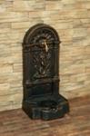 FIRENZE ozdobná studňa nástenná, antický bronz