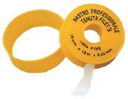 Teflonová páska na plyn 12mmx12mx0,1mm