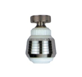 Guľovitý ohybný perlátor biely-chrom bez balenia