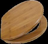 WC sedák – bambus