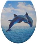 Duroplast WC sedák, delfín