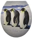 Duroplast WC sedák, tučniak