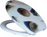 Duroplast WC sedák, morský slimák